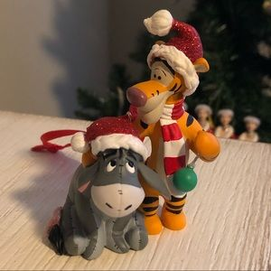 Eeyore and Tigger Christmas Ornament